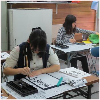 20150715-教室(日本習字)