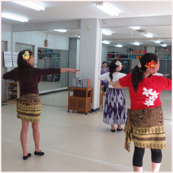 20150723-教室(ハワイアン・フラ)